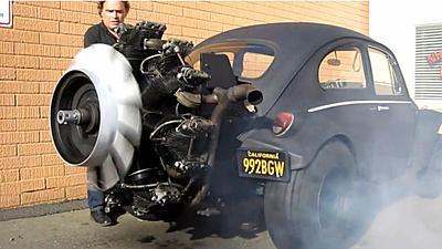 V6 or V8 Engine Swap Into T4 Caravelle