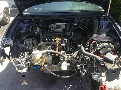 2001 MK4 1 6 SR engine swap/install