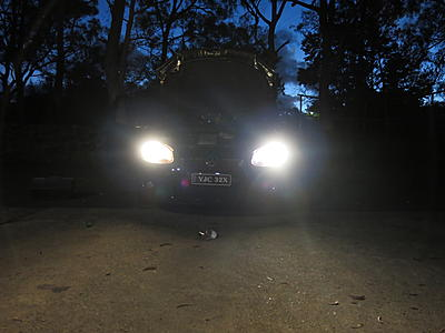 2x VW Transporter MK5 Genuine Osram Night Breaker Unlimited High Main Beam Bulbs