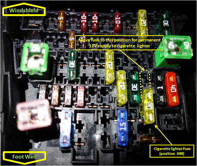 11251d1407905149t permanent 12v supply power socket 2asiw2g png permanent 12v supply to power socket 2010 Mazda 3 Fuse Diagram at webbmarketing.co