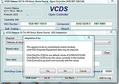 VCDS (VAG-COM) codes and programmable options for Golf Mk7 - Page 79