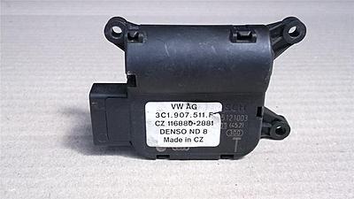 Passat B6 2008 problem with Climatronic flap motor
