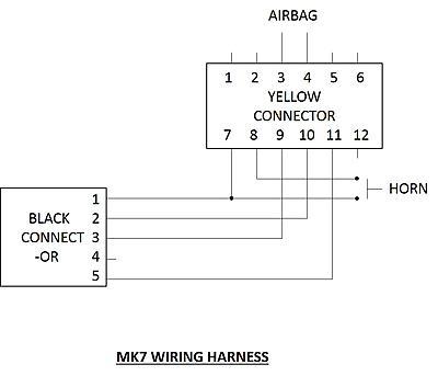 18507d1440740881t installation mk7 multi function steering wheel paddles into mk6 mk7 wiring harness jpg installation of a mk7 multi function steering wheel paddles into vw beetle steering column wiring harness at gsmportal.co