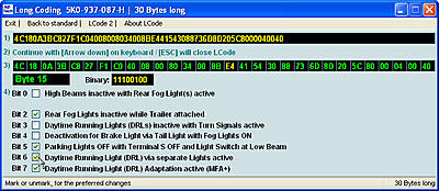 Tiguan VCDS Coding Options - Page 2