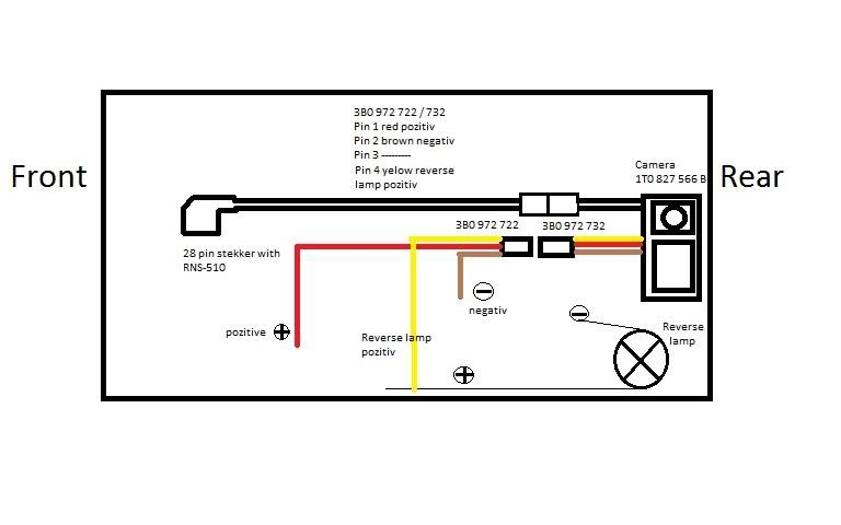 bekts1 1 rear view camera for tiguan install completed vw rcd 510 wiring diagram at gsmportal.co