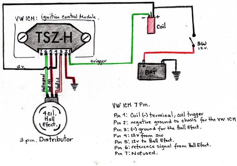 Wiring 1 electronic distributor three wires????????? mk1 golf wiring loom diagram at readyjetset.co