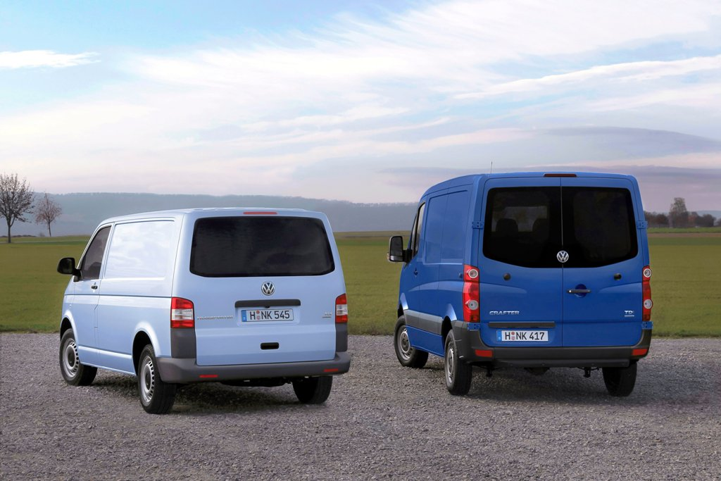Transporter Bluemotion And Crafter Bluemotion First