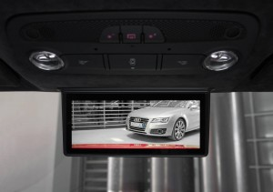 The Digital Rear-View Mirror is due to enter small-scale production in the Audi R8 e-tron at the end of this year(10.08.12)