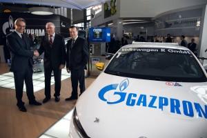 Vertragsunterzeichnung Gazprom