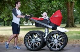 ŠKODA Unveils Giant RS Man-Pram