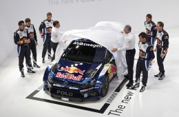 Polo R WRC 2015: Tackling title defence in blue-blue-white.