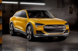 Audi h-tron quattro concept car unveiled at the Detroit Motor Show