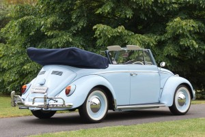 The award-winning 1962 VW Karmann Cabriolet being auctioned by Shannons on February 22 is correct in virtually every detail following a meticulous and sympathetic restoration