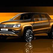 Amarok premium pick-up given the latest Volkswagen design