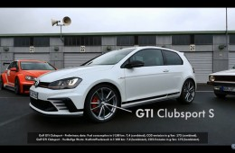 Golf GTI Clubsport S, GTI Mk 1 & GTI TCR: Family reunion after 40 years