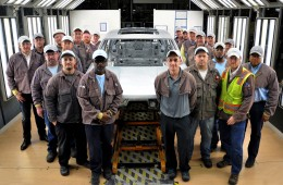 (USA) Volkswagen Chattanooga Builds First Midsize SUV Test Body