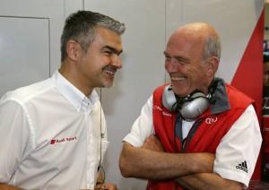 Dieter Gass (Head of DTM Audi Sport), Dr. Wolfgang Ullrich (Head of Audi Sport)